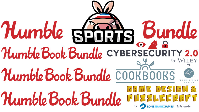 This Week's Top Humble Bundle Deals: Cookbooks and Sports