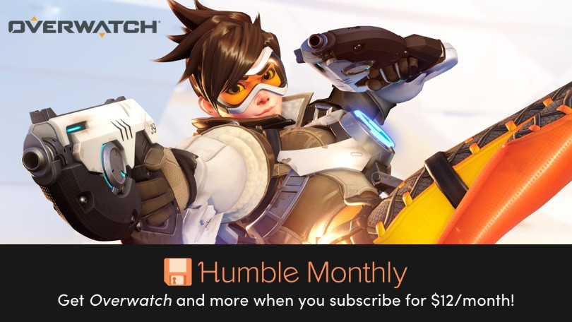 Sign Up for Humble Monthly, Get Overwatch, More for Just $ 12