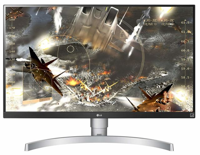 It's a more justifiable time to buy a 4K monitor like LG's 27UK650-W.