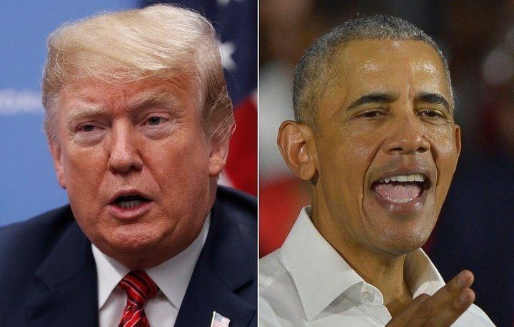 "President Donald Trump is the ""most tweeted about political figure"" of the year while former President Barack Obama has tweet"