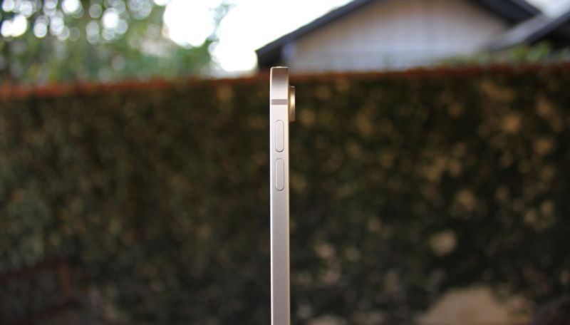 The iPad Pro is just one fourth of an inch thick.