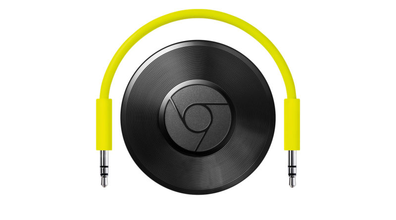 The Chromecast Audio let you hook up just about any audio device to the cast ecosystem through a 3.5mm jack. RIP.