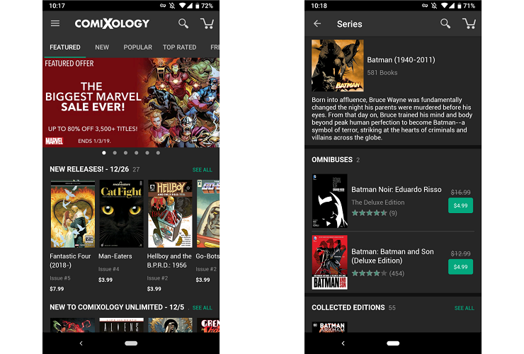 Comixology Comics