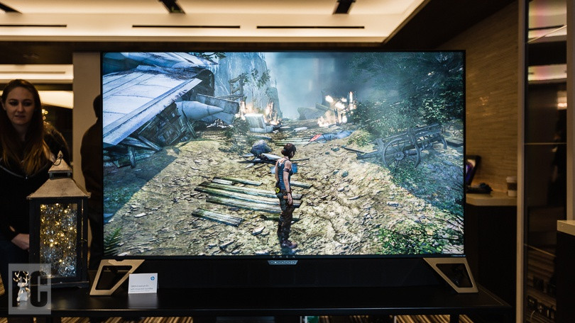 First Look: HP Omen X Emperium 65, First Nvidia Big Format Gaming Display