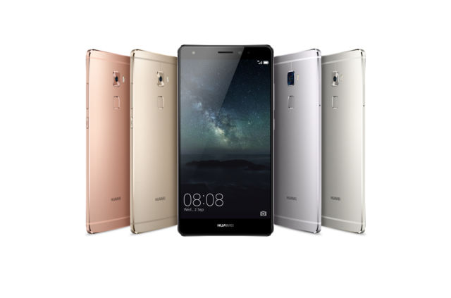 The Huawei Mate S.