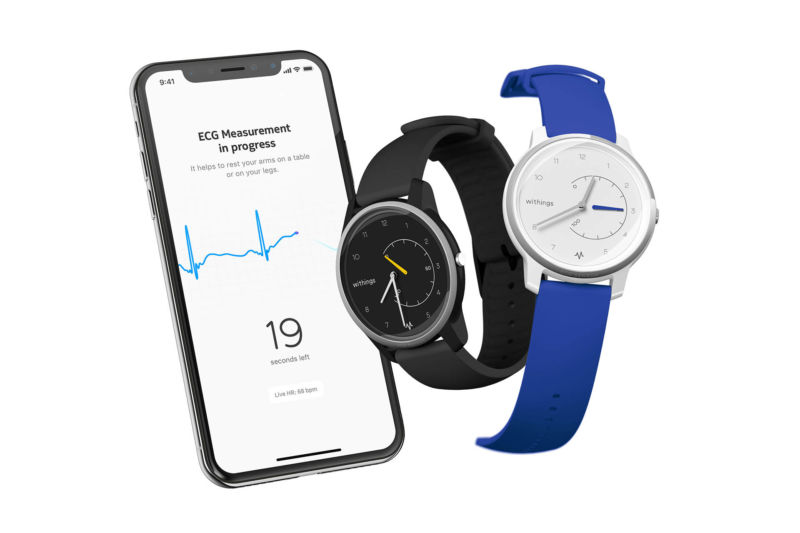 Withings undercuts Apple Watch, debuts $ 129 ECG monitoring smartwatch