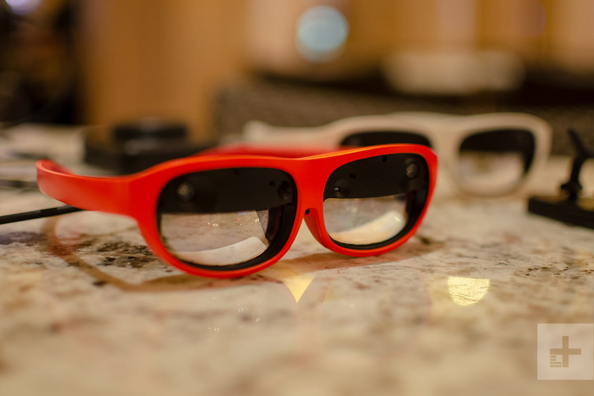 nreal product impressions ces 2019 glasses 4