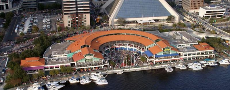 The Landing event complex in Jacksonville, Florida where the Madden competition took place.