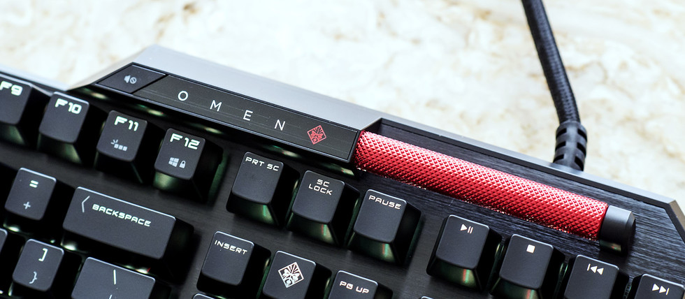 HP Omen Obelisk (Sequencer Keyboard Volume)