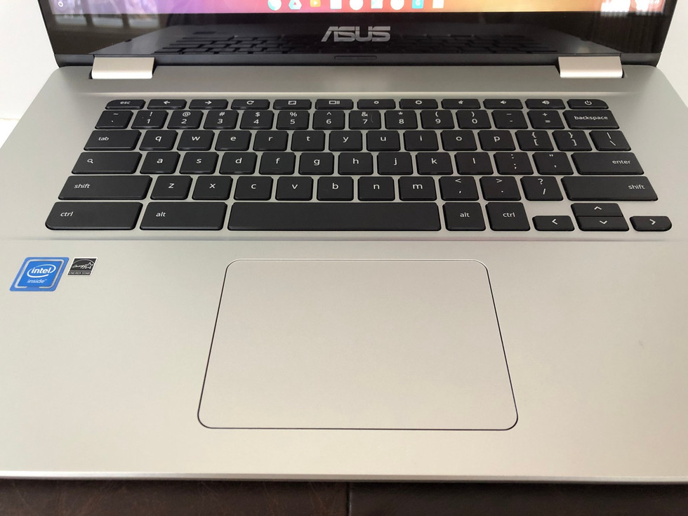 Asus Chromebook C523 touchpad