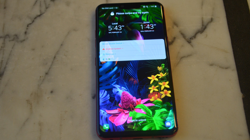 Hands On With the LG G8 ThinQ and V50 5G Phone