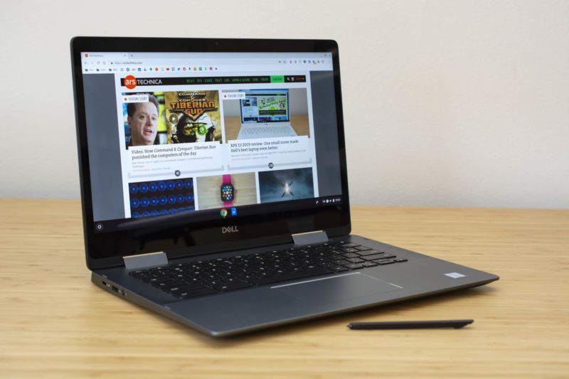 Mini-review: 24 hours with Dell's fanciest Chromebook yet