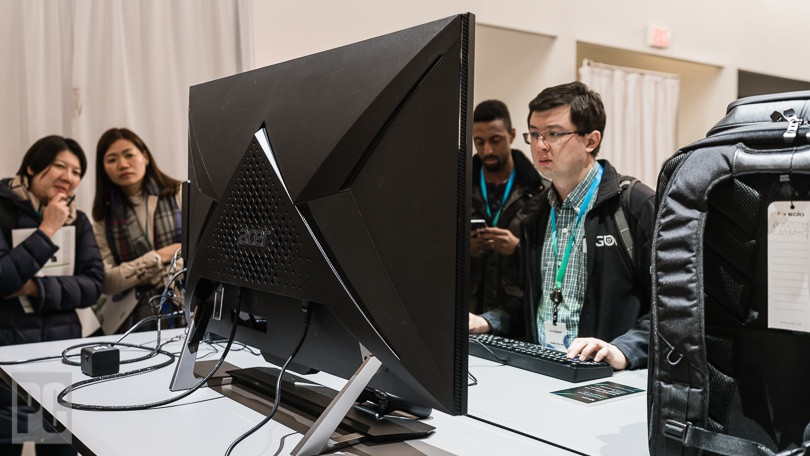 What's an LFGD? Eyes On With Acer's Predator CG437K, Ultimate 43-Inch Gaming Panel