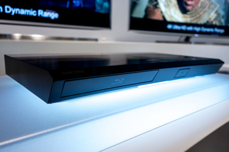 Samsung's UBS-K8500 Blu-ray player