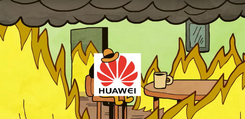 Huawei's response to the export ban so far.