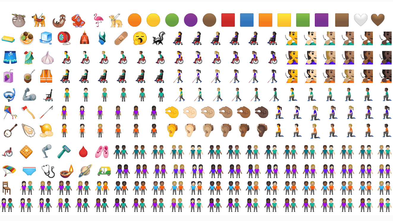 New emoji Android Q 2019