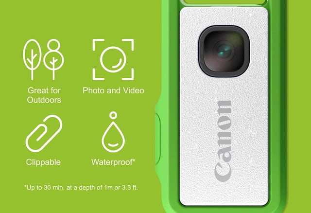 canons crowdfunded clippable camera has a very unusual viewfinder canon ivy rec 2