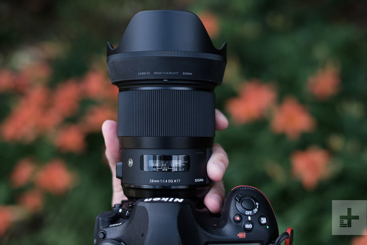 Sigma 28mm F1.4 Art lens
