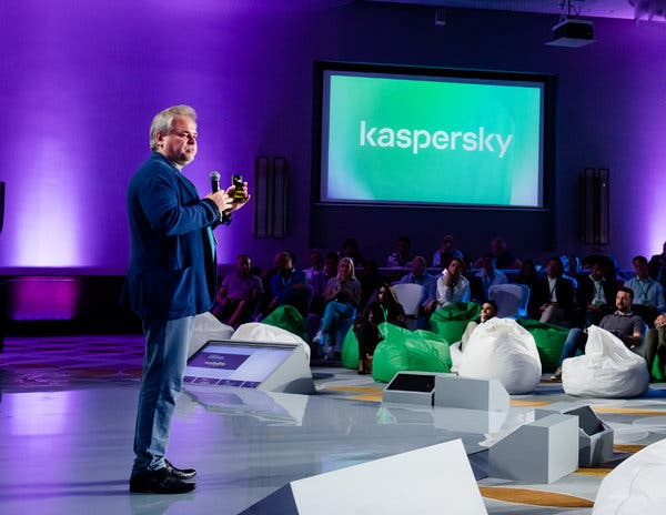 Eugene Kaspersky, the chief executive of Kaspersky Lab, a Russian cybersecurity company.