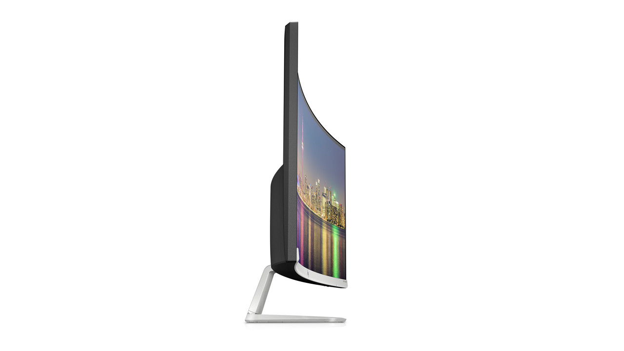 HP 34f 34-inch Curved Display