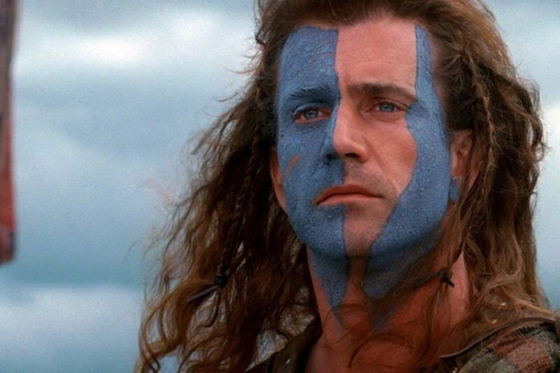 "The 1995 film <em>Braveheart,</em> starring Mel Gibson as the medieval Scottish knight Sir William Wallace, turns 25 this month. Archaeologists think they may have located the hidden fort he used during his battles against the English.""><figcaption class="