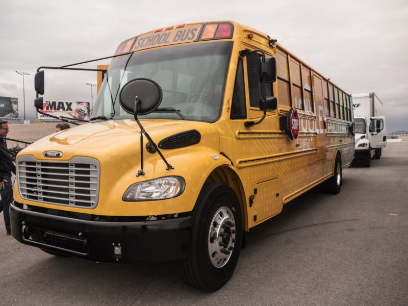 TBB Saf-T Liner Jouley electric school bus