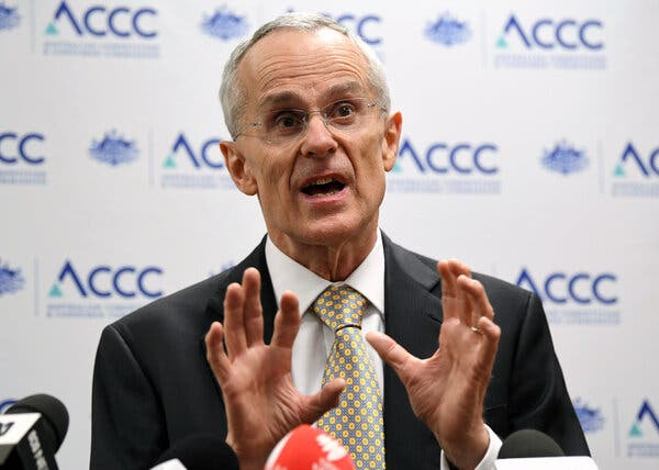 Rod Sims, the chairman of Australia's consumer protection regulator, is the main architect of the code.