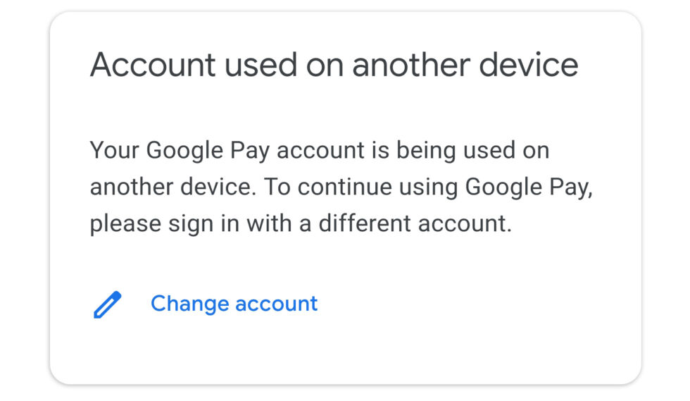 SMS-based apps like Google Pay only support one device at a time.